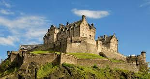 verslag Schotland Edinburgh Castle